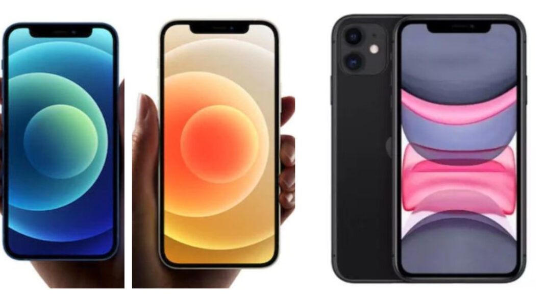 Comparison: iPhone 12 mini VS iPhone 12 VS iPhone 11