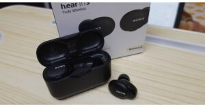 review of Sony WF-H800 truly wireless earphones