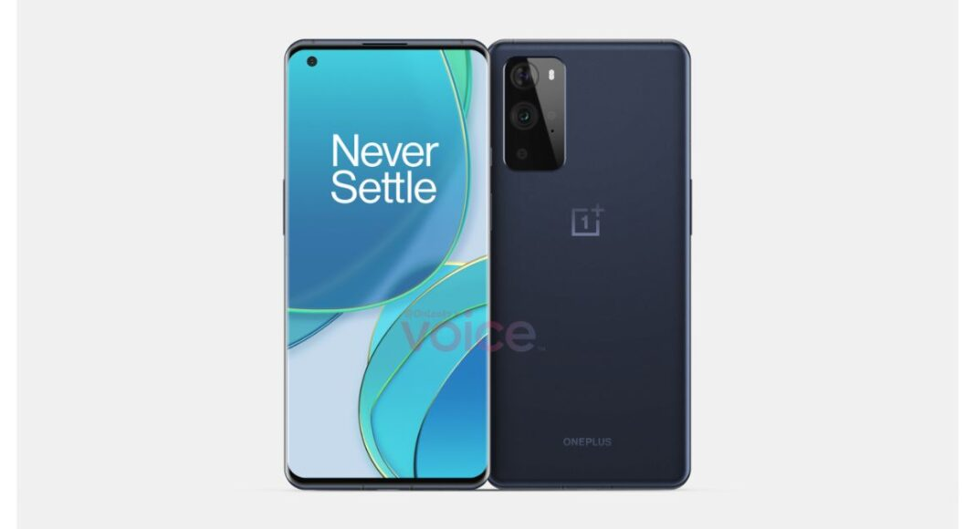 OnePlus 9 series renders leak suggests a rectangular camera module similar to OnePlus 8T