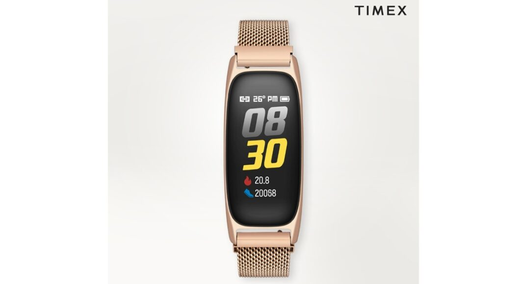 Timex rolls out its First Fashion Fitness Band in India for Rs 4,495