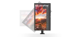 LG 32UN880-B UltraFine Display Ergo 4K monitor