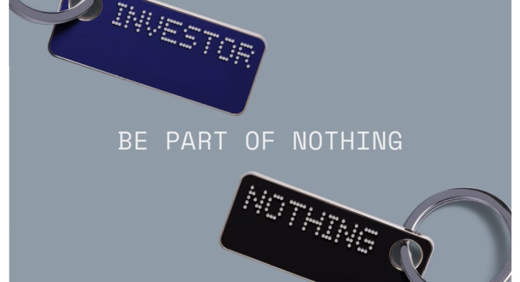 Carl Pei's Nothing Brand invites the user to invest in the company and become a shareholder