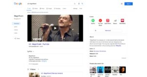 Google Search rolling out a redesign for music-related search queries on desktop