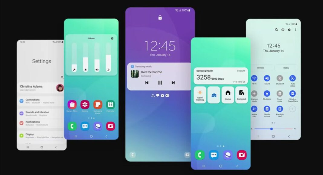 Samsung Galaxy S20 series, Galaxy Note20 series, Galaxy Z Fold2 and Galaxy Z Flip series and several other smartphones introduced with One UI 3.1 update