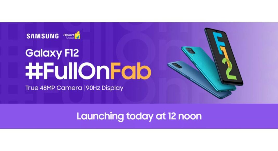 Samsung to unleash Samsung Galaxy F02s and Galaxy F12 in India today