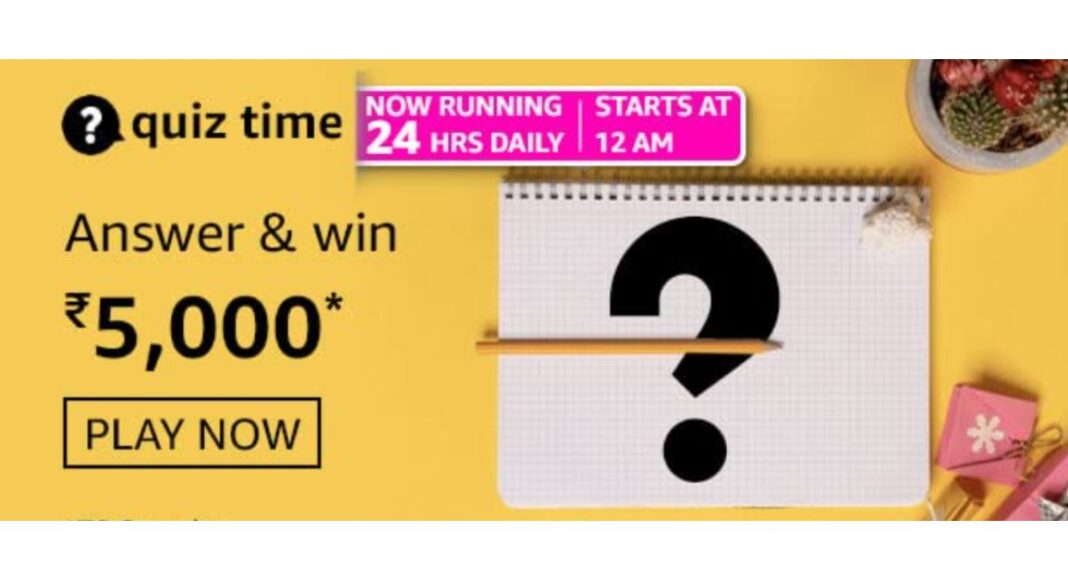 May 7 Amazon Quiz: Participate to win Rs 5,000 Amazon Pay Balance