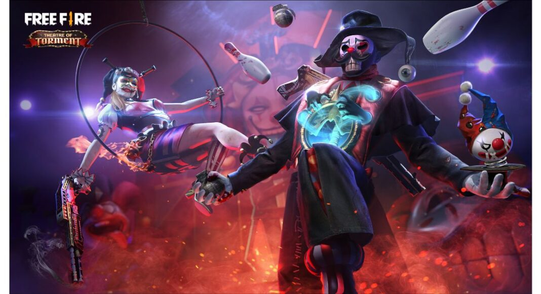 Garena Free Fire rolls out circus-themed Elite Pass - Theatre of Torment